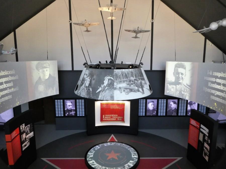 Радиальные экраны для Музея «Дом Авиаторов»