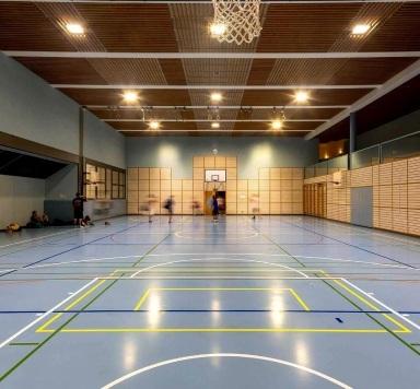 Антивандальная видео стена для спортивного зала