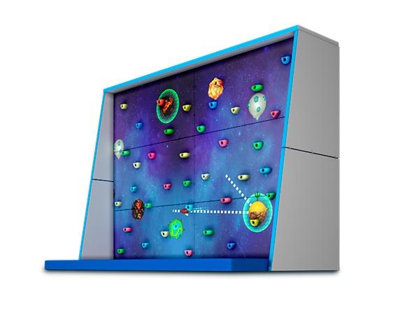 Интерактивные скалодромы